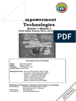 EmpTech - Q1_Mod2_Online Safety, Security, Ethics, And Etiquette