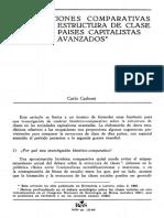 REIS N°26-1984 - Estructura de clase de los paises capitalistas avanzados