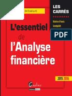 Lessentiel de lanalyse financière - 13e édition 2015-2016 by Béatrice GRANDGUILLOT Francis GRANDGUILLOT z-liborg