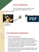 31- Les transistors bipolaires (07 Décembre 2015)