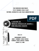 A Review of Medical Results of Gemini 7 and Related Flights
