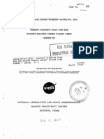 Mission Planning Plan for the Fourth Manned Gemini Flight Crew Gemini 7