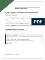 installation de certificat ssl sous zimbra