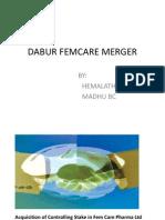 36839863 Presentation of Dabur and Fem Care