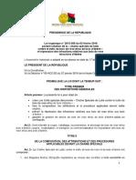 L2015-056 Loi bois derose et bois d'ébène