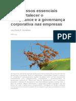 9 passos p fortalecer o compliance e governanca