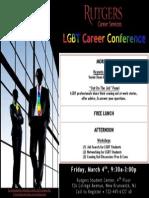 LGBT Career Conference Flyer