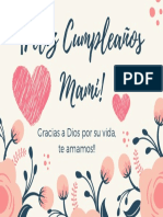 ¡Feliz Cumpleaños Mami!