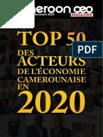 Cameroonceo-magazine- n 0013 Top50 Decembre 2020-1