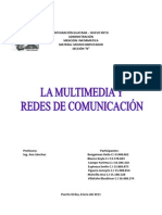 Trabajo de Multimedia y Redes