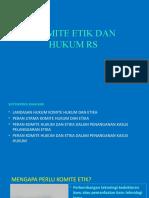9. KOMITE ETIK DAN HUKUM RS (1)