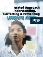An Integrated Approach for . . . Preventing Unsafe Acts