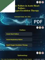 Respiratory Failure in Acute Heart Failure Workshop Singkat