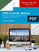 CPEG 2021 Schedule