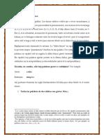 Prosodia latina y acentos