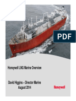 Honeywell LNG Marine Solution Overview August  19 2014