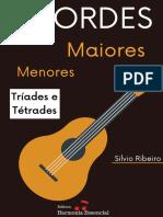 eBook Acordes Maiores e Menores - Prof. Silvio Ribeiro