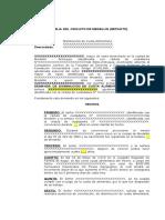 DEMANDA DE DISMINUCIÓN DE CUOTA ALIMENTARIA