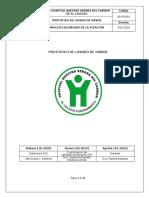 SA-PRO01 Protocolo Lavado de Manos
