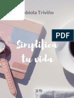 Simplifique Sua Vida - Fabiola Triviño