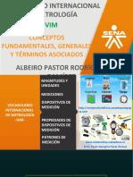VOCABULARIO INTERNACIONAL DE METROLOGÍA