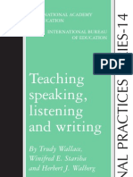 TEACHING SPEAKING LISTENING AND WRITING