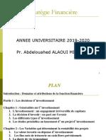 Gestion Financière 2020