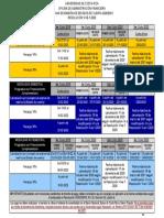 CALENDARIO DE PAGINA WEB 2020