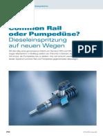Common Rail oder Pumpedüse