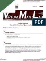 WT Virtual Math Lab