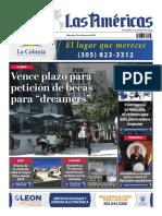 Portada 24 de Febrero 2021  Diario Las Américas