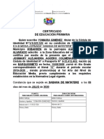 CERTIFICADO DE EDUCACIÓN PRIMARIA (5)