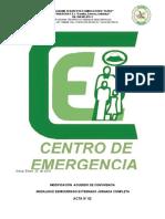 ♥ ACTA DE MODIFICACIÓN ACUERDO ACUERDO DE CONVIVENCIA ENERO-2019