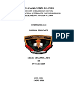 Sylabus Inteligencia Ets-pnp -Pte Piedra