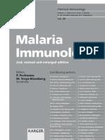 Malaria Immunology