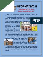 INFORMATIVO II PROJETO MISSIONÁRIO