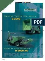 Piquersa Dumper D2000_D200AC