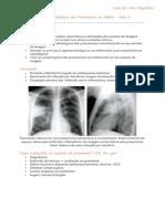 Resumo aula 4 - Pneumonias no Adulto