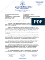 2.23.21 Letter to Secretary Mayorkas and Acting Director Johnson