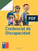 Diptico Credencial de Discapacidad