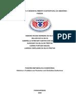 FUNÇÕES METABÓLICA E ENDÓCRINA - Histórico e Cuidados aos Pacientes com Distúrbios Endócrinos