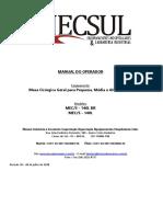 MANUAL DO OPERADOR S 140-L_01_18 rev 10- 10 10 2018