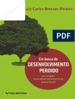 Bresser-Pereira - Novo Desenvolvimentismo