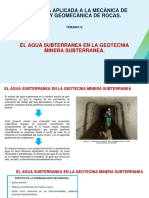t.8. El Agua Subterranea en La Geotecnia Minera Subterranea - Fabiola Fidelibus