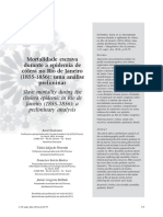 Mortalidade Escrava No RJ Durante Epidemia Da Cólera 1855_56