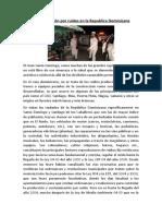 Contaminación por ruidos en la Republica Dominicana