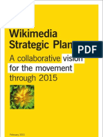 WMF Strategic Plan 2011 Spreads