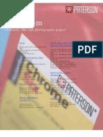 Paterson darkroom chemicals