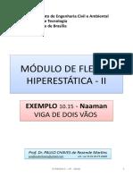 MÓDULO DE FLEXÃO HIPERESTÁTICA II - Ex Naaman - 2017