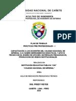 PLAN DE TRABAJO - MONTERO MENDOZA MAX